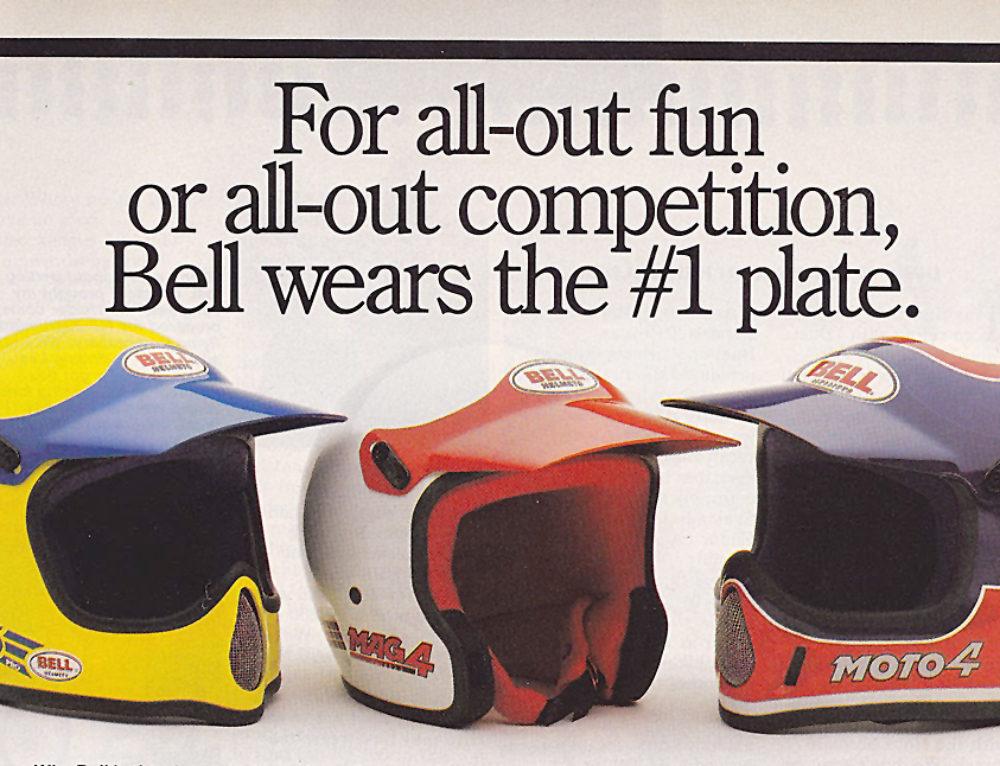 Bell, i caschi che scrivono la storia